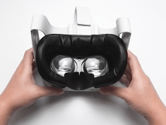 VR Cover Facial Interface & Foam Replacement Set for Oculus Quest 2