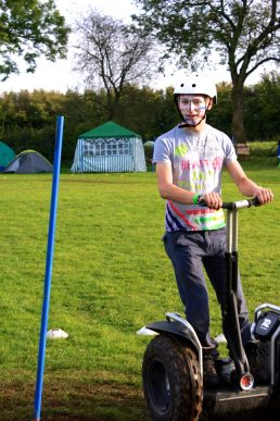 Segway and Facepaint