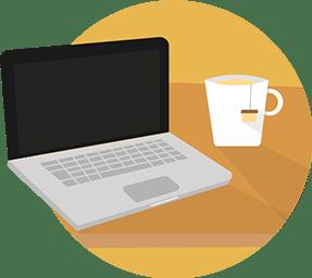 Computer, blog