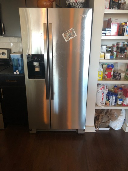 Barry's refrigerator: suspected apartment cradle of life
