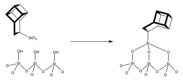 Figure 1 Schematic representation of the basketanyl group, attached upside-down.
