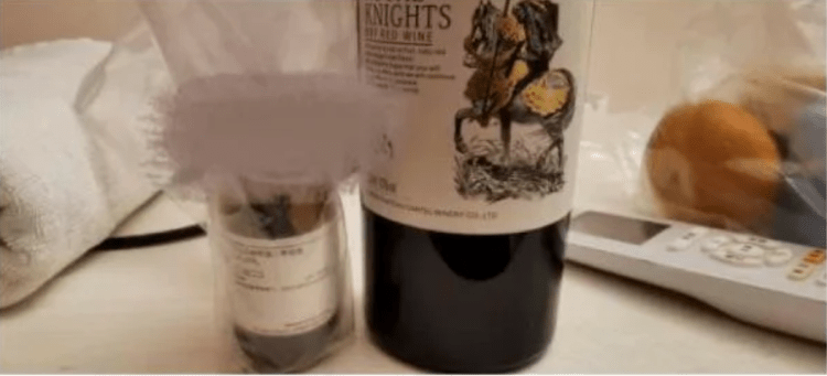 Figure 1: Wine and reagents.