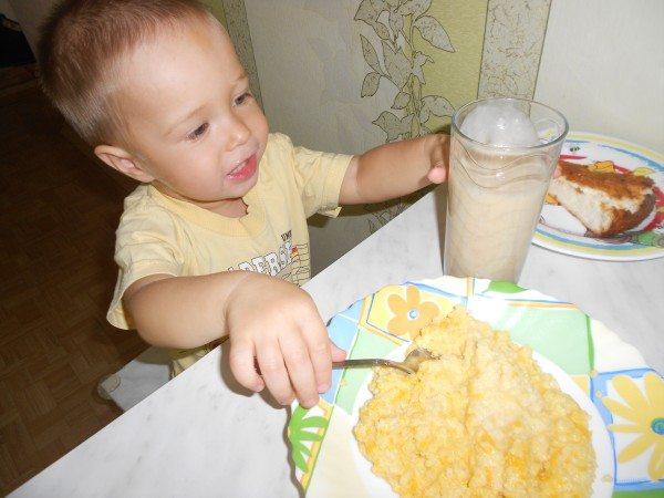 питательный завтрак для малыша 5