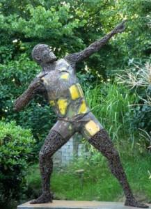 Vita Diedel Kloever Usain Bolt statue