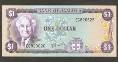 value of Jamaican money