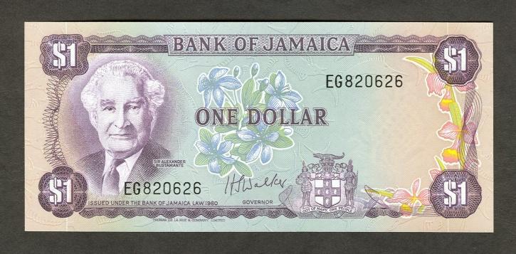 value of Jamaican money