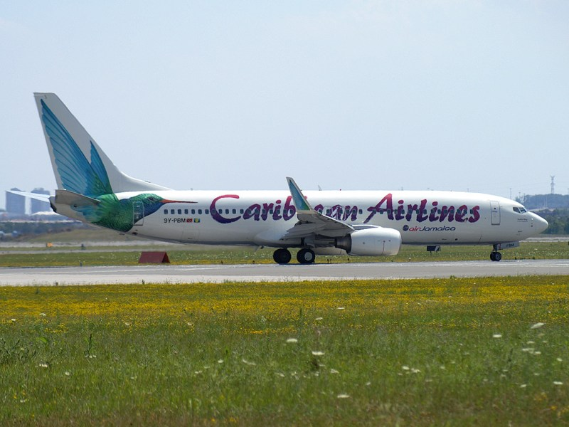drugs on plane, cocaine on caribbean airlines