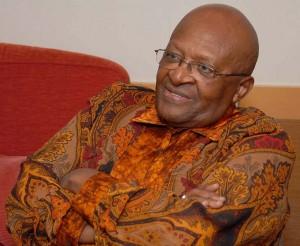 Desmond Tutu,  South African social rights activist