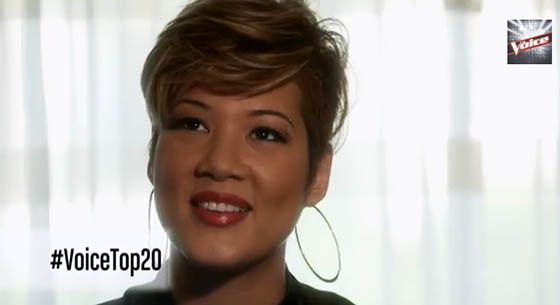 Tessanne Many Rivers to cross, Tessanne the voice top 20