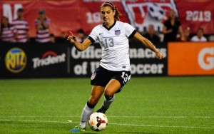 Alex Morgan concacaf female player of the year