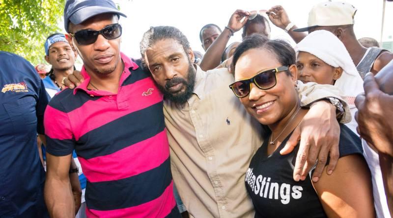 Super Cat in Jamaica - Super Cat performance Sting , Stin 2013
