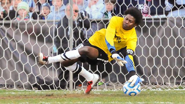Andre Blake Superdraft MLS goalkeeper Jamaica