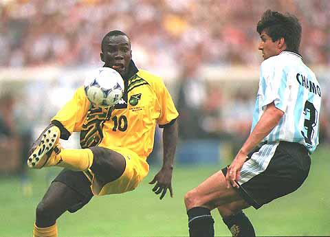 Walter Boyd Blacka Pearl the pearl Best Jamaican footballer striker world cup 98