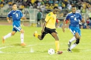 Dino WIlliams Jamaica international football