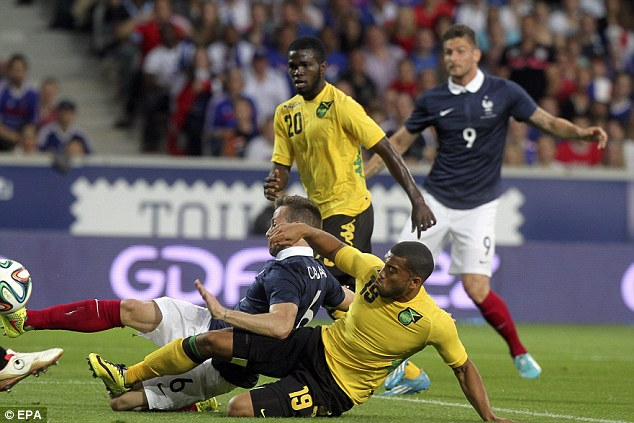 France 8 Jamaica 0 lile France June 8 2014