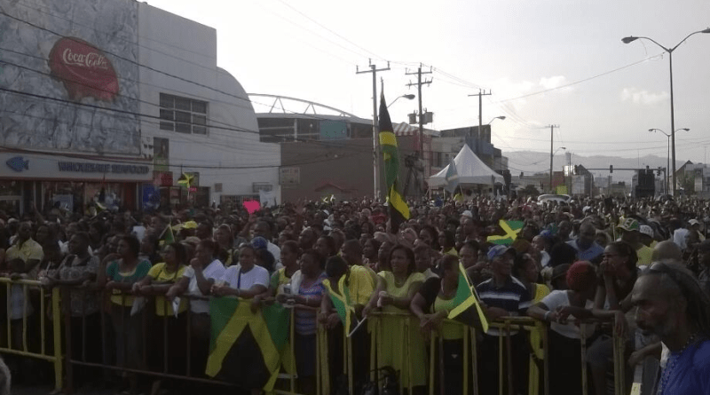 pictures Jamaica CAUSE rally 2014