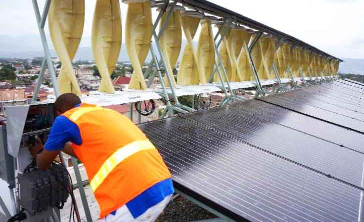 Largest wind solar hybrid in the world
