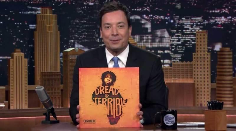 Chronixx performs on The Tonight Show video