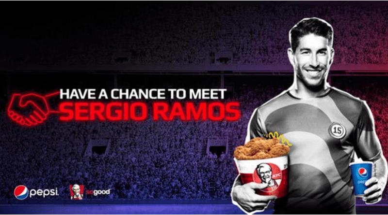 Win a chance to meet Sergio Ramos