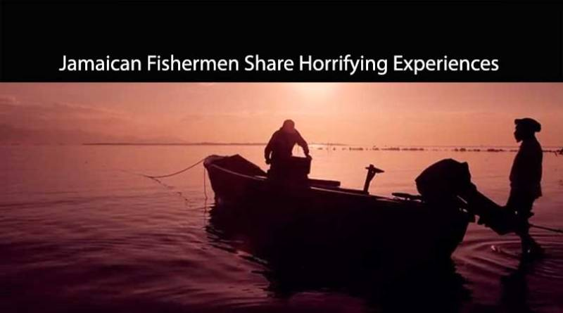 being a fisherman is scary