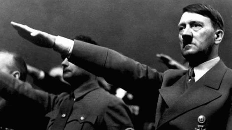 Adolf Hitler Nazi salute