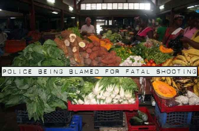 fruit vendor picture Angela Bennett killed police Jamaica