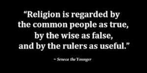 Religion true false useful