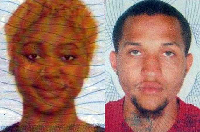 Rusheda Smith (left) and Steven Walker (Credit: Jamaica Observer)