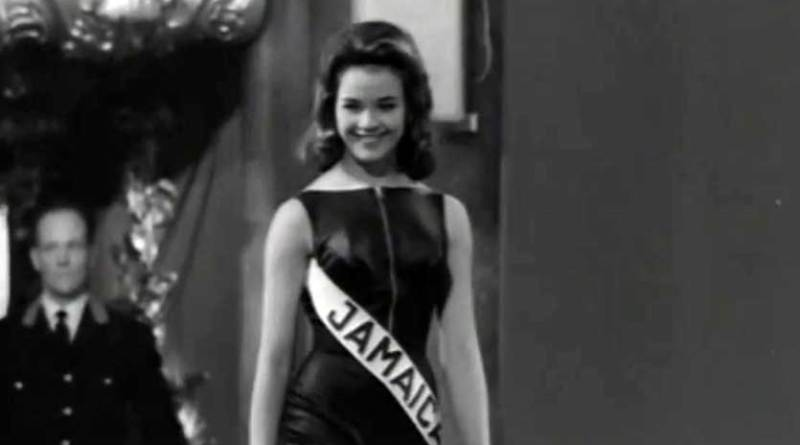 first miss world winner from Jamaica Carole Joan Crawford video 1963