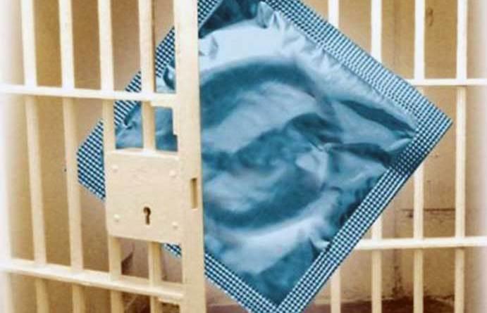 issue condoms in prisons