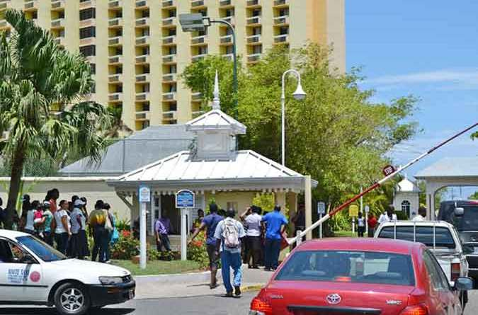 many persons try to find jobs at hotel jamaica