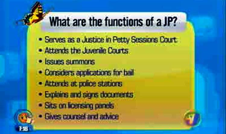 purpose roles of Justice of the Peace lay magistrates who are they