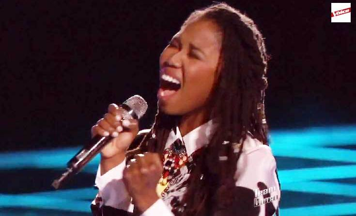 Anita Antoinette girl from Jamaica eliminated from the voice Top 10