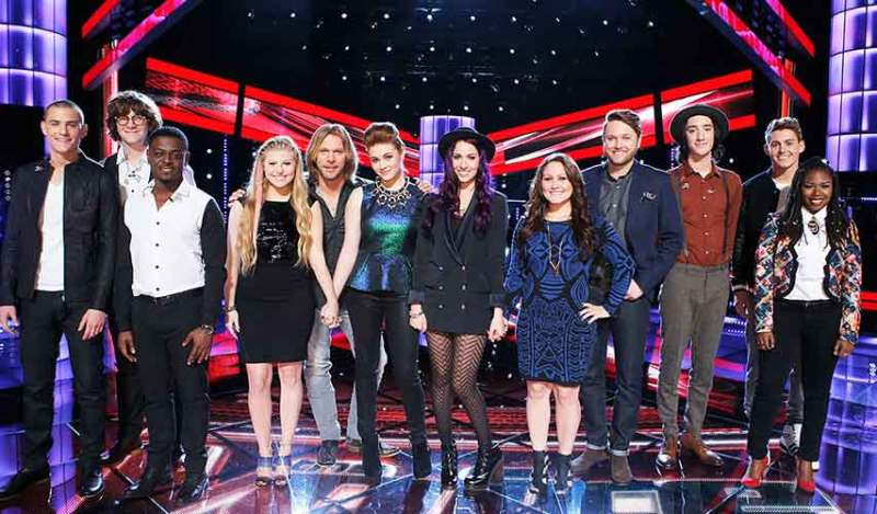 the voice season 7 top 12