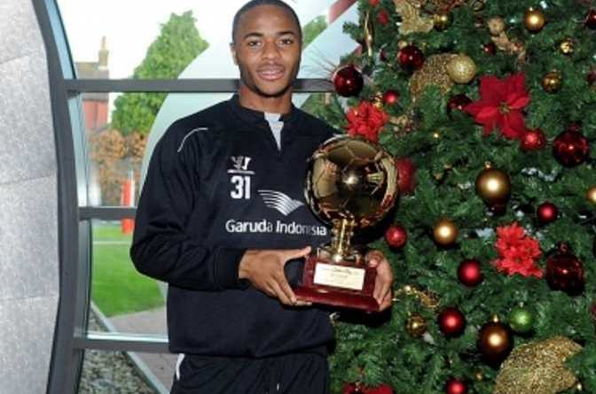 Raheem Sterling European Golden Boys