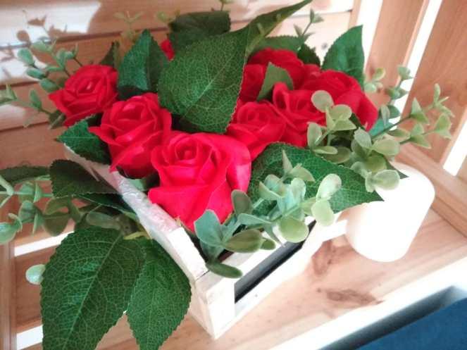 Ramo rosas de jabón 18,95€