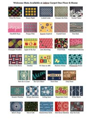 Welcome Mats - Jabro Carpet & Flooring Store Southgate MI ...