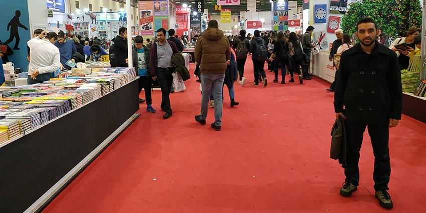 من معرض الكتاب الدولي في تركيا