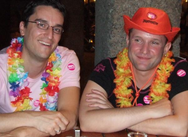 Christoph und Patrick