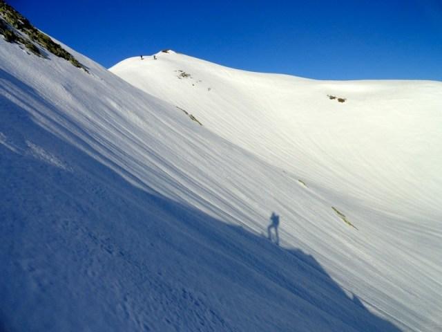 Subida del Collado al Pico Astún