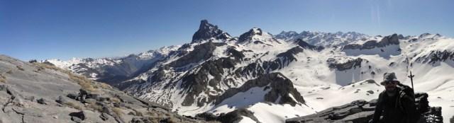 Panorámica desde la cima del Caillabet de Rebec
