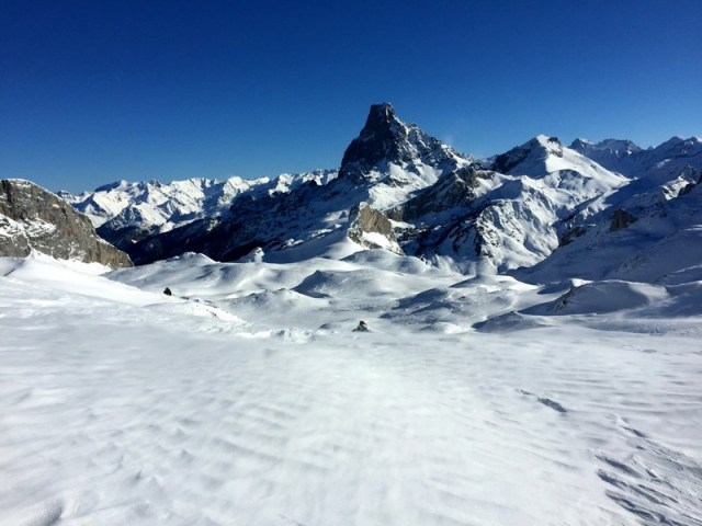 Vista hacia el Midi, desde el Col des Moines