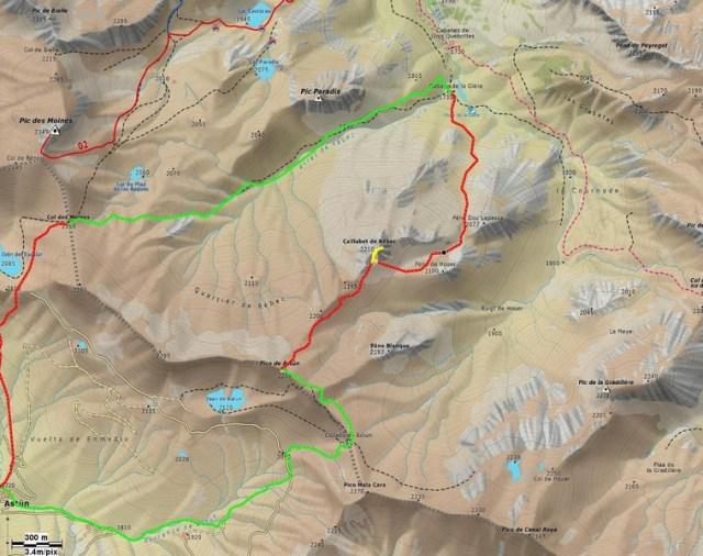 Mapa de la salida