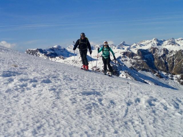 Subiendo hacia el Col de Arnousse