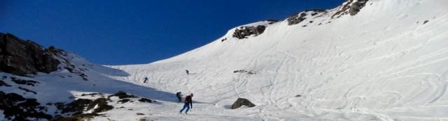 Bajando del Col de Arnousse