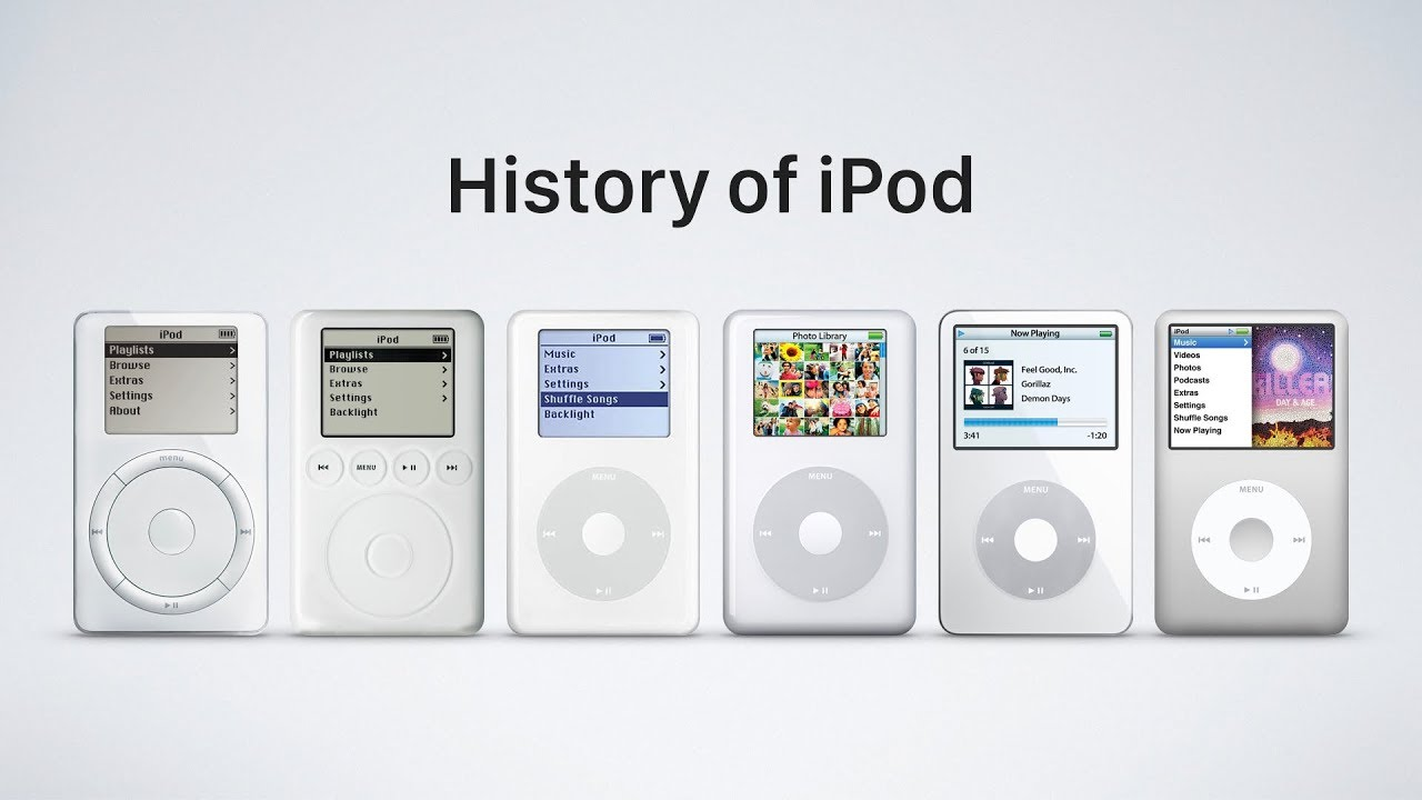 history of the ipod, how to design the next iphone