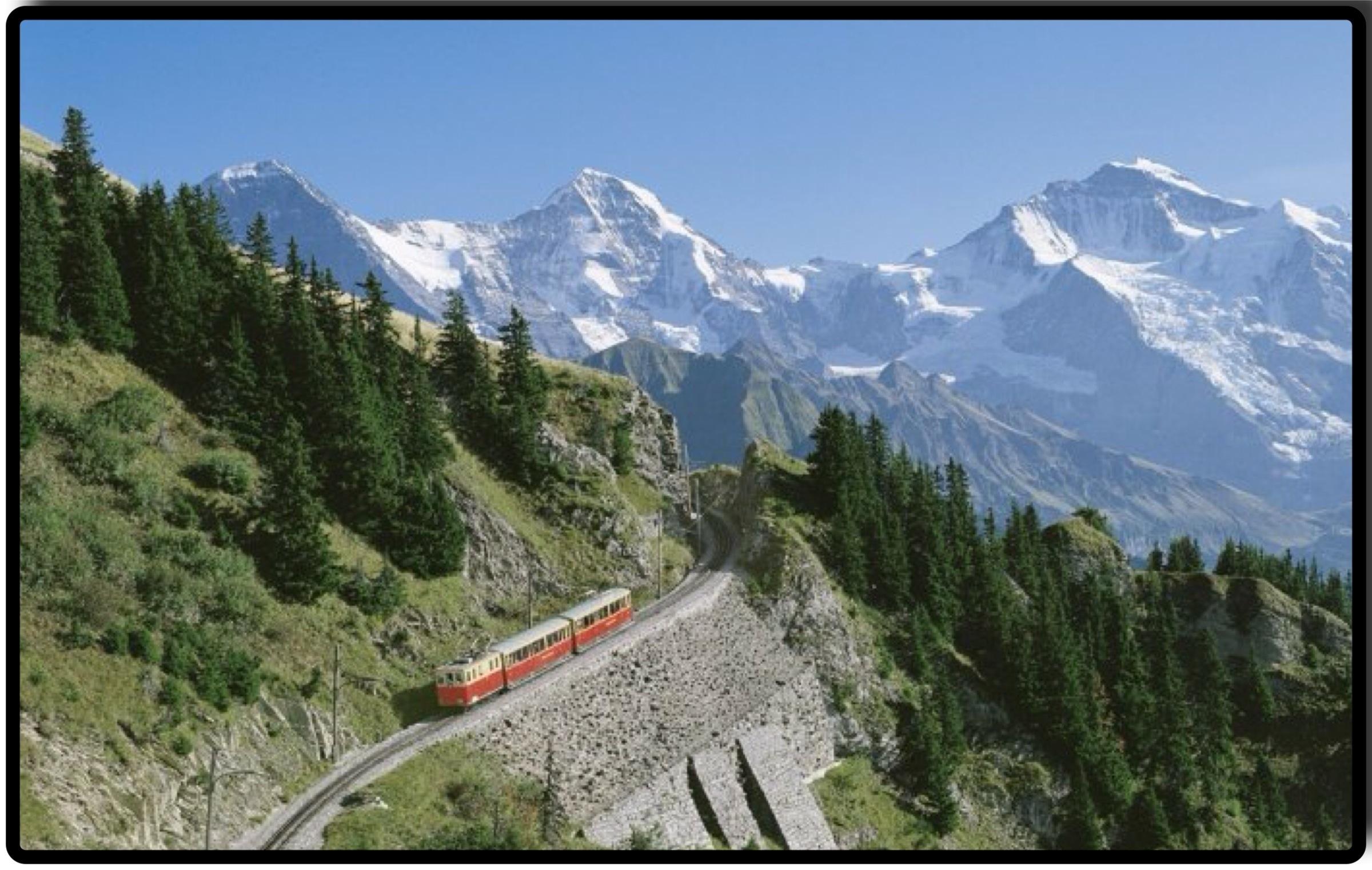 Interlaken Bernese Oberland  Jacek Proniewicz travel blog