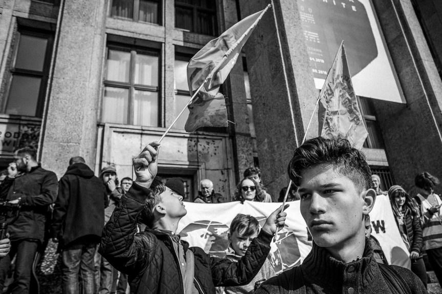 Mlodzieżowy Strajk Klimatyczny Kraków, fot. Jacek Taran