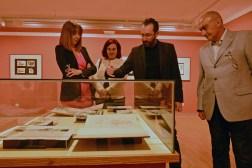 Inauguración de la exposición temporal de Celedonio Perellón.