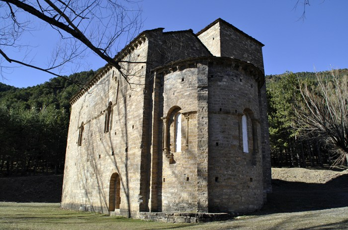 SANCHO RAMÍREZ. Santa María de Iguácel. (Foto: Comarca de la Jacetania)